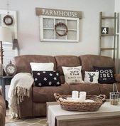 78 Comfy Farmhouse Living Room Dekorationsideen #Wohnzimmer #Wohnzimmerideen #Wo…