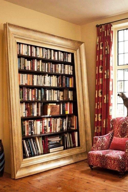 80 Ideen für einzigartig kreative Bücherregale und Bücherschränke – Wohnideen und Dekoration
