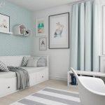 9 qm Kinderzimmer einrichten – Tipps für optimale Möbelverteilung - Dekoration Haus