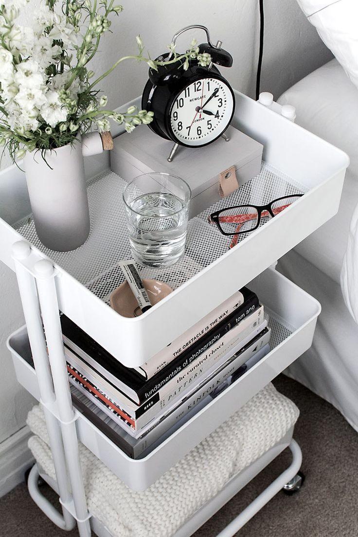 9 stilvolle Organisationsideen für kleine Schlafzimmer – bingefashion.com/interior
