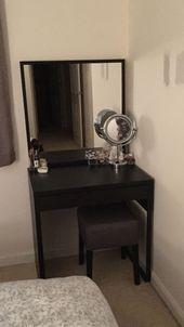 99 schwarzer Waschtisch mit Spiegel  Möbel für das Büro zu Hause Weitere Info…
