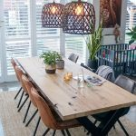 A large dining table is cozy and provides a s ... - #Cozy #dining #Industrial #L...