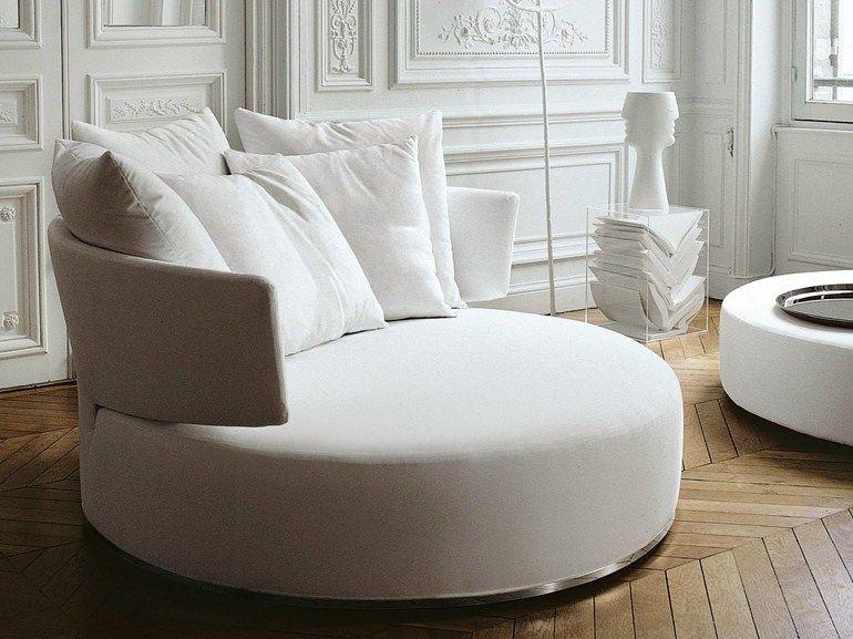 AMOENUS | Fabric sofa By Maxalto design Antonio Citterio