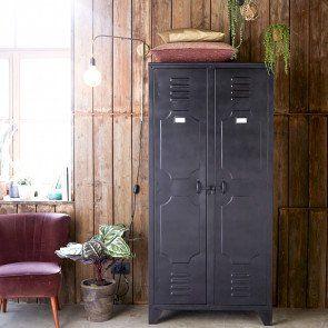 Ablageschrank aus Metall – Schränke mit 2 Türen