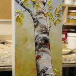 # #Abstrakte #Malerei #moderne  Abstrakte Malerei moderne Lutscher Baum zeitgen...