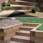 Adding DIY steps and stairs to your garden or yard is a great way to enhance you... | lifestylezz