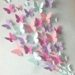 Ähnliche Artikel wie Papier Wand 3D Schmetterling - 3D Wall-Art - Papier-Schmetterling auf Etsy
