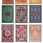 Affordable Boho Rugs - Guitar & Lace