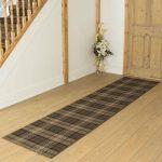Alpen Home Ashanti Tufted Brown Hallway Runner Rug | Wayfair.co.uk