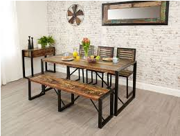 Although a formal sit-down dining table will require proper chairs, a trend that…