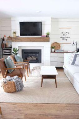 Amazing Modern Farmhouse Style Living Room Decoration Ideas – HOOMCODE