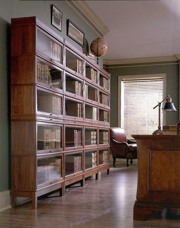 American Made Hale 300 Series Heritage Three Stack Barrister Bookcase