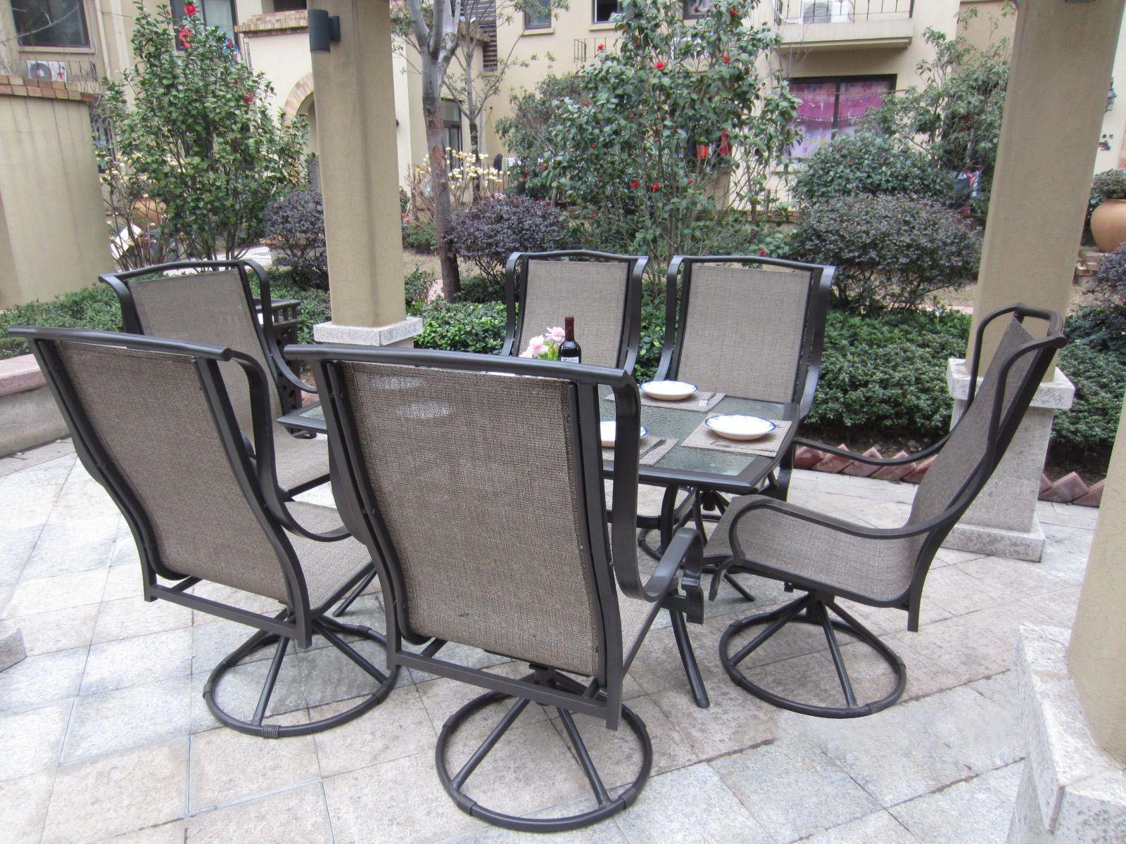 Ansprechende Terrasse Ess Set mit Sonnenschirm, Um Unvergessliche Momente zu Speisen – Mobelde.com