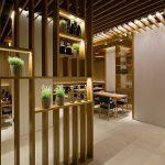 Architektur Raumteiler aus Holz in großartigen Designs aus Holz Wohnideen 3 ein...