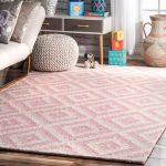 Arrowood Hand-Tufted Wool Light Pink Area Rug | Joss & Main
