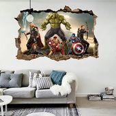Avengers Wall Stickers For Kids (Multicolor) #avengers #multicolor #stickers#fas…
