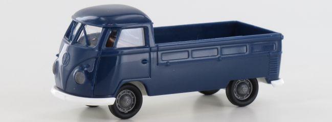 BREKINA 32958 VW T1b Pritsche dunkelblau | Auto-Modell 1:87 | Online kaufen bei …