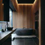 Badezimmer in Schwarz – Luxusgefühl und Stil im zeitgenössischen Bad zaubern - https://pickndecor.com/haus