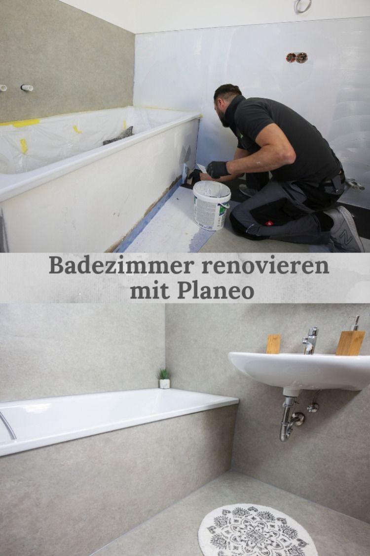 Badezimmer renovieren mit Planeo