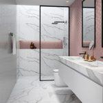 Badfliesen-Designs, Trends & Ideen #bathroomtileideaswickes - kleines badezimmer