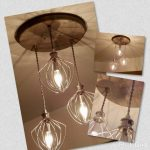 Bakery Restaurant Lighting Farmhouse Lighting - Dining Room Lighting -Industrial Chandelier - Whisk Chandelier- Kitchen Lighting