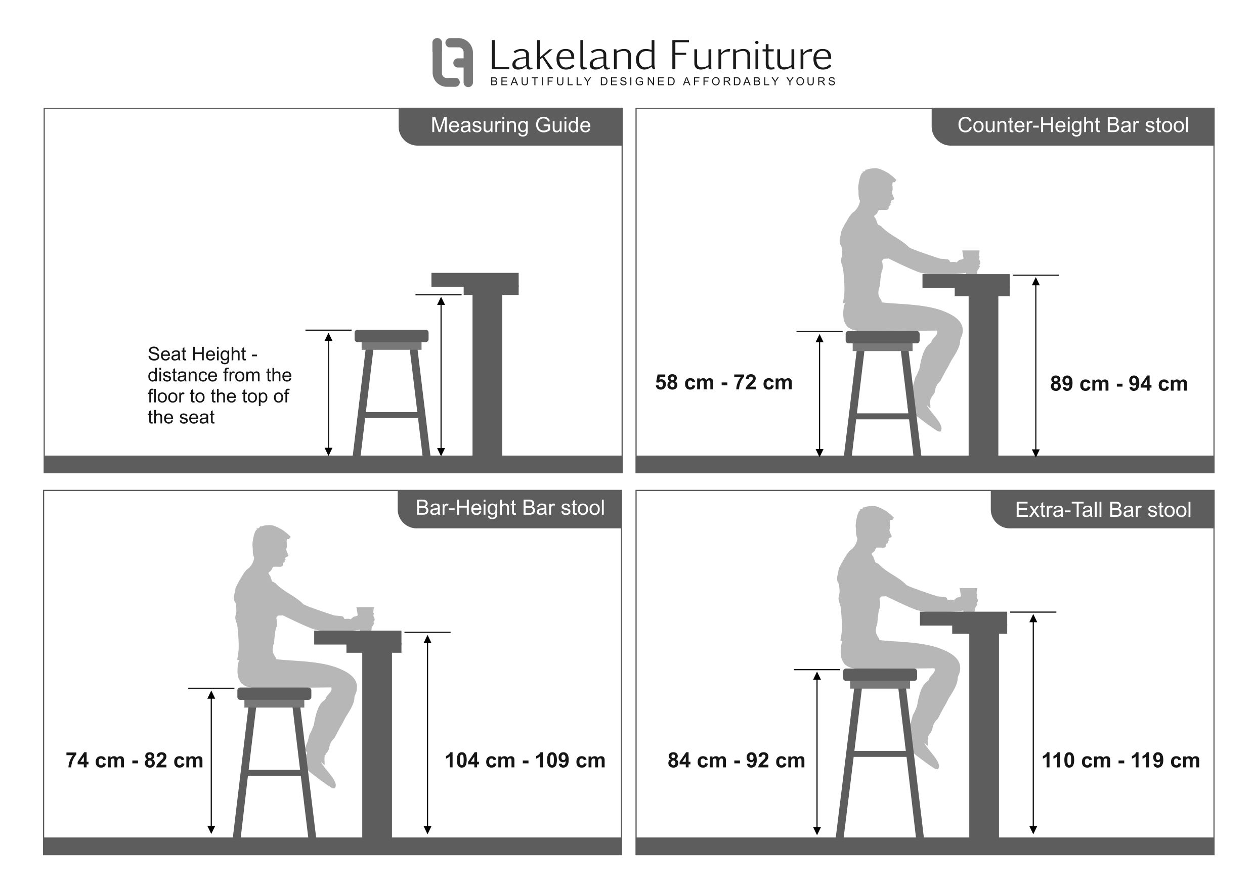 Bar Stool Size Guide – What Height and Width Should It Be