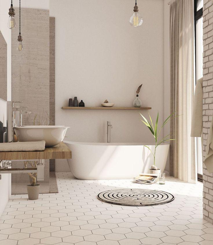 Bathroom Floor Ideas and Designs – Badezimmer ideen