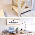 Bauernhaus X Schreibtisch - Wood Design