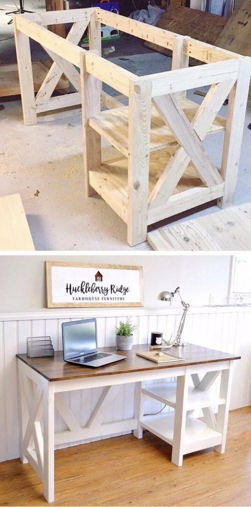 Bauernhaus X Schreibtisch – Wood Design