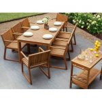 Bay Isle Home Nibbi 8 Seater Dining Set | Wayfair.co.uk