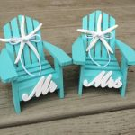 Beach Wedding Cake Topper,Mini Adirondack Chairs,Beach Wedding,beach cake topper,Nautical Wedding Cake,Beach Theme Cake Topper,Bridal Shower