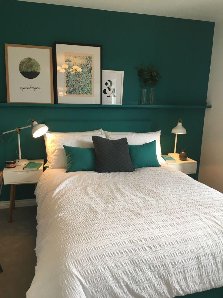 Bedroom decoration Green room  Wohnen  #Bedroom #decoration #green #Room #Wo Coz…