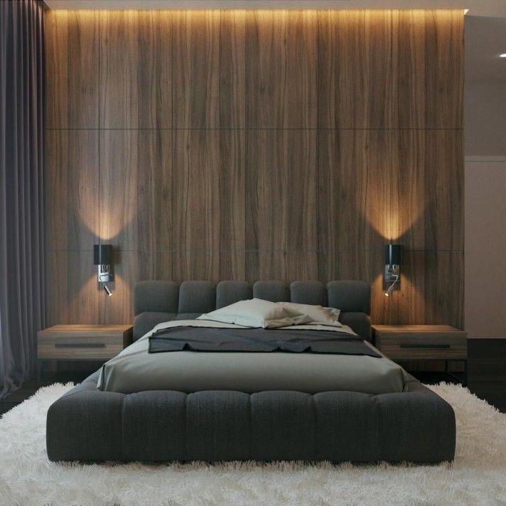 Bedroom interior design, style – modern