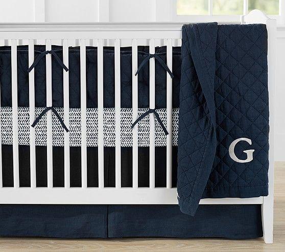 Belgian Flax Linen Baby Bedding