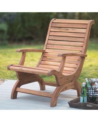 Belham Living Outdoor Belham Living Avondale Adirondack Chair – Natural from Hayneedle | BHG.com Shop