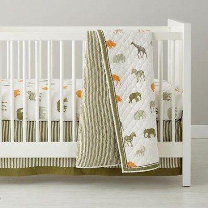 Beste Baby Boy Nursery Themes Jungle Crib Bettwäsche-Sets Geschlecht Neutral 49…