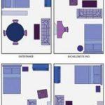 Beste Schlafzimmer moderne Einrichtung kleine Räume Studio-Apartments Ideen #Ap...