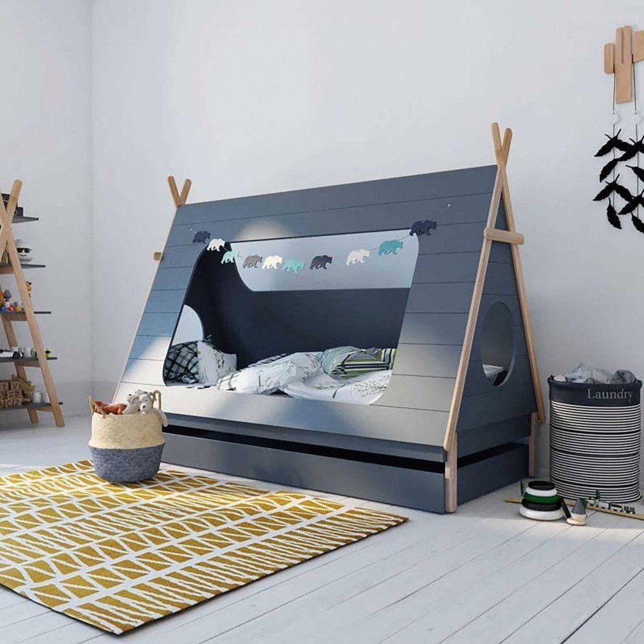 Bett Tipi 90 x 200 cm: Abenteuer Kinderzimmer