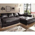 Big Sofa Vintage schwarz, Ecksofa,