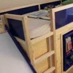 Bilder für etagenbetten mit schreibtisch ikea hack,  #Bilder #Etagenbetten #für #Hack #IKEA #...