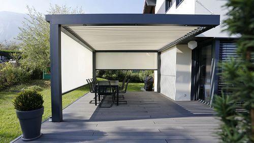 Biossun-180 | Biossun Terrassenüberdachung 180 #pergolawithroof