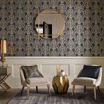 Black and Gold Wallpaper | Art Deco Wallpaper