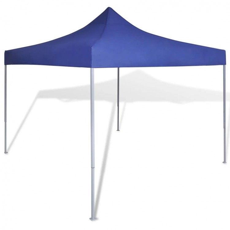 Blue Foldable Tent Sunshade Outdoor Marquee BBQ Party Awning Camping Canopies  | eBay