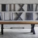 Bodahl Massivholz Esstisch Rustic Oak Kansas 180x110x76 cm / Eiche moc