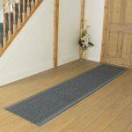 Brambly Cottage Adalynn Flatweave Grey Hallway Runner Rug | Wayfair.co.uk