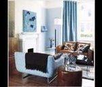 Braune und blaue Wohnzimmerideen. Schöne Wohnzimmerideen. 28693992 Ideen für #...