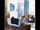 Braune und blaue Wohnzimmerideen. Schöne Wohnzimmerideen. 28693992 Ideen für #…