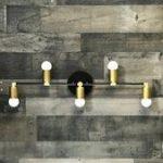 Bristleback Wall Sconce 5 Bulb Vanity Leuchte Badezimmerbeleuchtung Mid Century ...