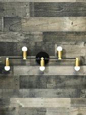 Bristleback Wall Sconce 5 Bulb Vanity Leuchte Badezimmerbeleuchtung Mid Century …