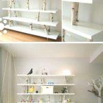 Bücherregal aus weißem Holz, wie macht man ein Bücherregal ... - Bilder Bilder